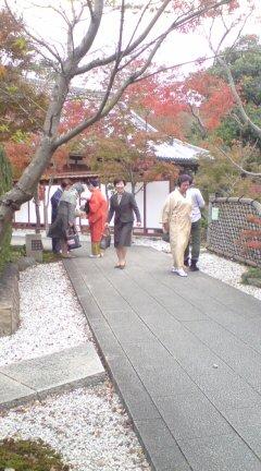 小倉庭園での茶会