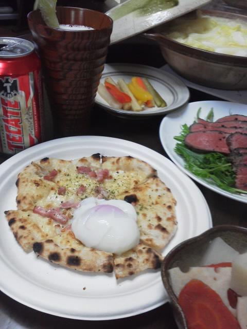 温かな夕食