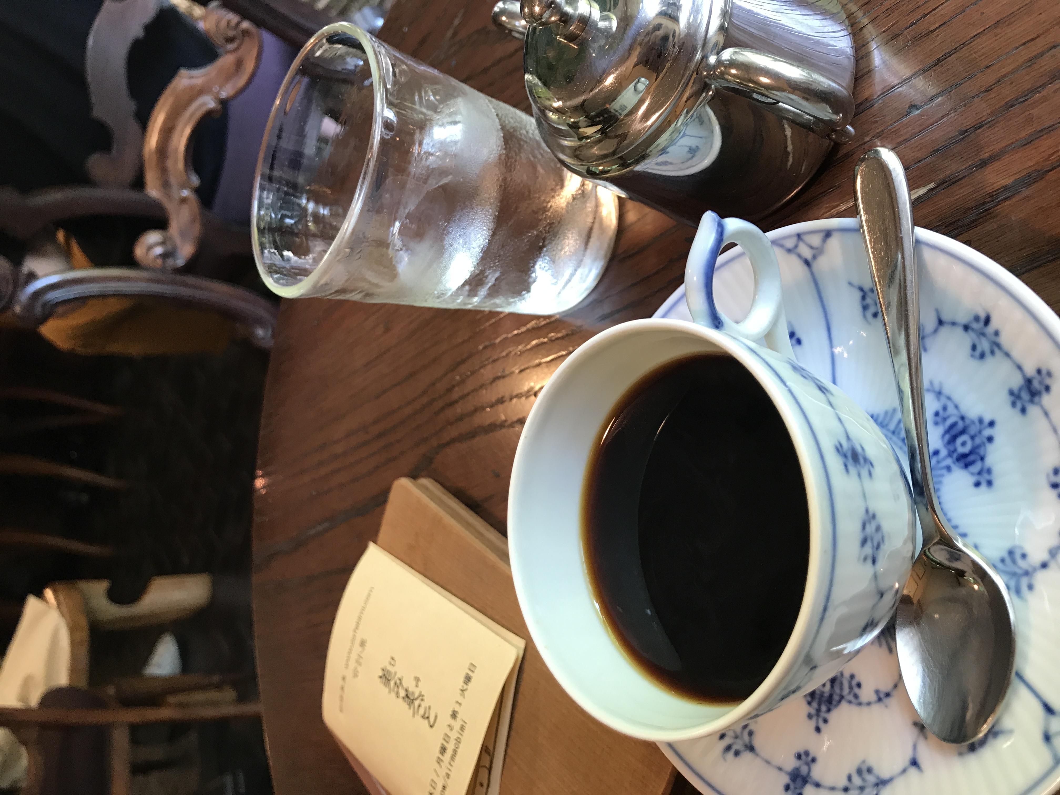 コーヒーが美味しい時期に